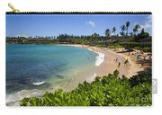 Napili Bay With Visitors Carry-all Pouch