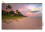 Naples Beach At Sunset, Florida Carry-all Pouch