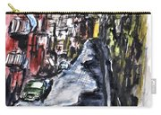 Naples City Street Carry-all Pouch by Clyde J Kell