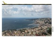 Naples Italy Aerial Perspective - Coastal Beauty Of Mergellina, Posillipo And Marechiaro Carry-all Pouch