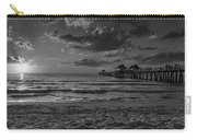 Naples Pier Bw  Carry-all Pouch