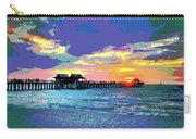 Naples Pier Florida Carry-all Pouch