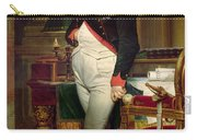Napoleon Bonaparte In His Study At The Tuileries, 1812 Carry-all Pouch