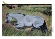 Napping Horse Carry-all Pouch