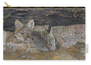 Naptime - Canadian Lynx Carry-all Pouch