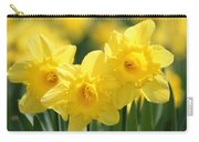 Narcissus Meadows Carry-all Pouch
