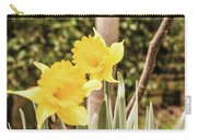 Narcissus Of A Plant Carry-all Pouch