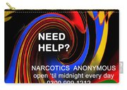 Narcotics Anonymous Poster Carry-all Pouch