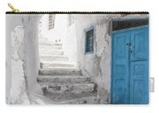 Narrow Alley And Stairway On Santorini Carry-all Pouch