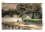 Narrow Boat And Jetty Carry-all Pouch