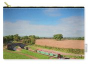Narrow Boat In Lock Carry-all Pouch