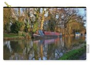 Narrow Boat On Wey Navigation - P4a16008 Carry-all Pouch
