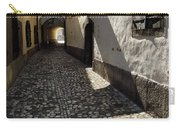 Narrow Cobblestone Alley Ribji Trg Or Fish Square From Cankar Qu Carry-all Pouch