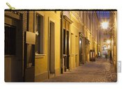 Narrow Street In Old Town Of Wroclaw In Poland Carry-all Pouch