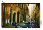 narrow streets in Rome Carry-all Pouch by Joana Kruse