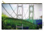Narrows Bridge Abstract Carry-all Pouch