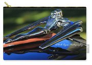 Nash Ambassador Hood Ornament  Carry-all Pouch