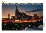 Nashville At Sunset Carry-all Pouch