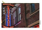Nashville Crossroads Music City  Carry-all Pouch