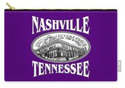 Nashville Tennessee Design Carry-all Pouch