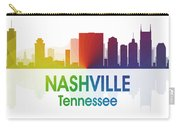 Nashville Tn Carry-all Pouch by Angelina Vick