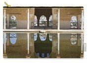 Nasrid Palace Arches Reflection At The Alhambra Granada Carry-all Pouch
