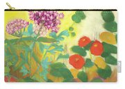 Nasturtiums, Rose Milkweed And Rue Carry-all Pouch