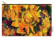Natalie Holland Sunflowers Carry-all Pouch