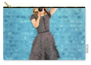 Natalie Carry-all Pouch by Nancy Levan