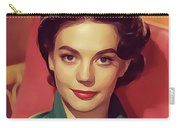 Natalie Wood, Vintage Actress Carry-all Pouch