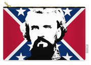 Nathan Bedford Forrest And The Rebel Flag Carry-all Pouch by War Is Hell Store
