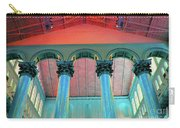National Columns Blue Carry-all Pouch