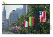 National Flags Of Various Countries Carry-all Pouch