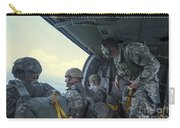National Guard Special Forces Await Carry-all Pouch