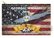 National Veterans Creative Arts Festival Carry-all Pouch