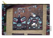 Native Alaskan Mural Carry-all Pouch