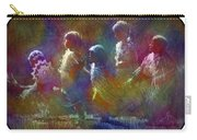 Native American - 5 Girls Dancing In The Moonlight Carry-all Pouch