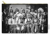 Native American Delegation, 1877 Carry-all Pouch