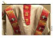 Native American Great Plains Indian Clothing Artwork 09 Carry-all Pouch