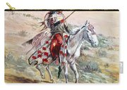 Native American Warrior Carry-all Pouch