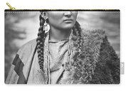 Native American Woman War Chief Pretty Nose Carry-all Pouch