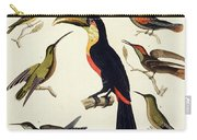 Native Birds, Including The Toucan From The Amazon, Brazil Carry-all Pouch