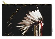 Native Headdress Carry-all Pouch