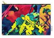 Native Plants Become Art.  Carry-all Pouch
