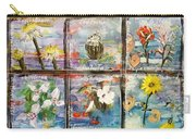 native Texas wildflowers A Carry-all Pouch by Michael Dillon