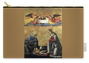 Nativity By Domenico Ghirlandaio Carry-all Pouch