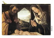 Nativity By Lorenzo Costa Carry-all Pouch