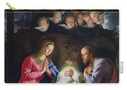 Nativity Carry-all Pouch by Philippe de Champaigne