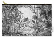 Nativity Carry-all Pouch by Rembrandt