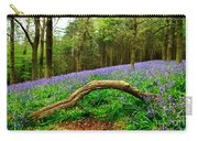 Natural Arch And Bluebells Carry-all Pouch